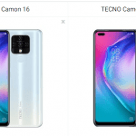 Difference between TECNO Camon 16 vs TECNO Camon 16 Pro