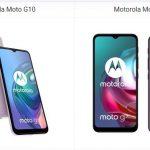 Motorola Moto G10 vs Moto G30