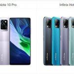 Infinix Note 10 Pro vs Infinix Hot 10T